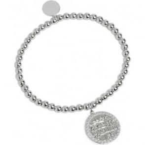 WEALTH AND PROSPERITY Ancient Coin Bracelet Silver