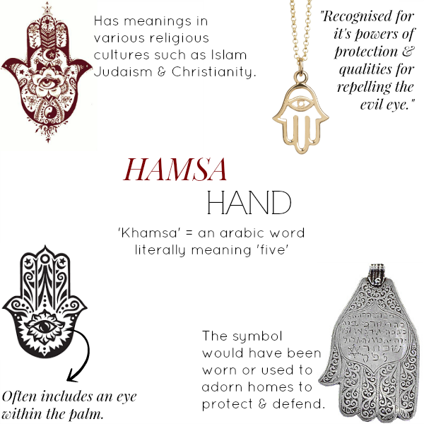 Inspired By The Hamsa Hand Muru Jewellery