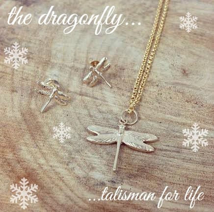 dragonfly snowflakes