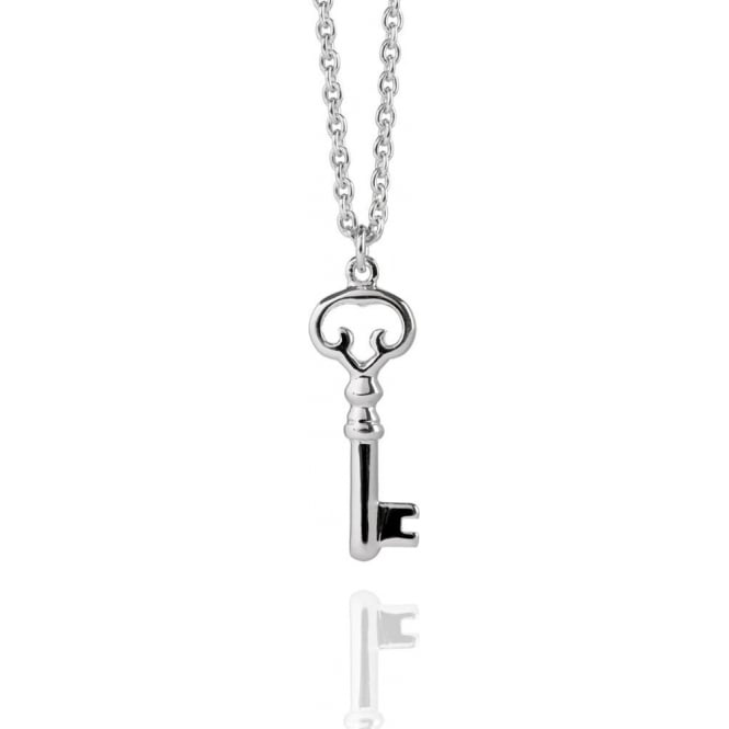 AMBITION Old Key Necklace Silver