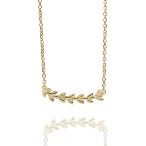 BEAUTY Magnolia Necklace Gold