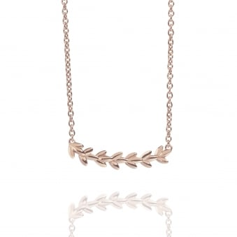 Magnolia Necklace Rose Gold