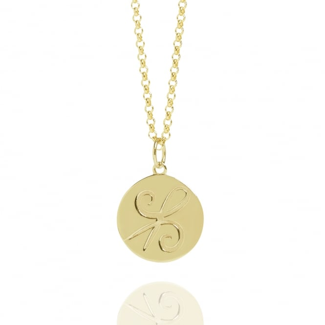 FRIENDSHIP Coin Necklace Gold