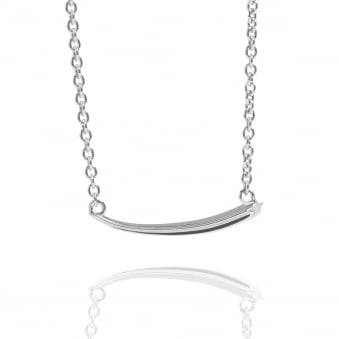 Shooting Star Necklace Silver