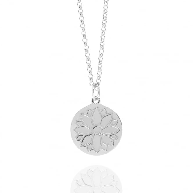 HEALTH & HAPPINESS Purity Coin Necklace Silver