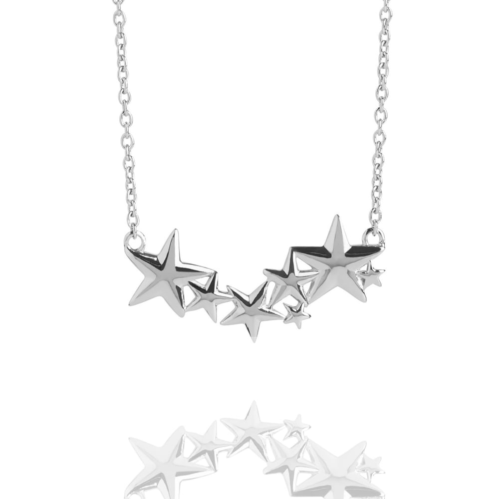 necklaces muru jewellery multi star silver hope necklace sterling image