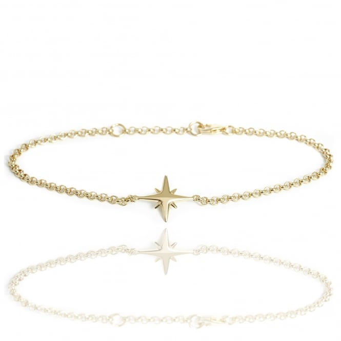 Hope Star Bracelet Gold