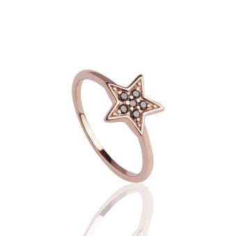 Star Ring Rose Gold