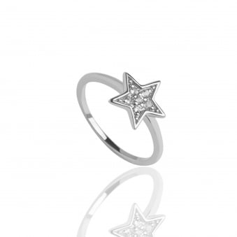 Star Topaz Ring Silver