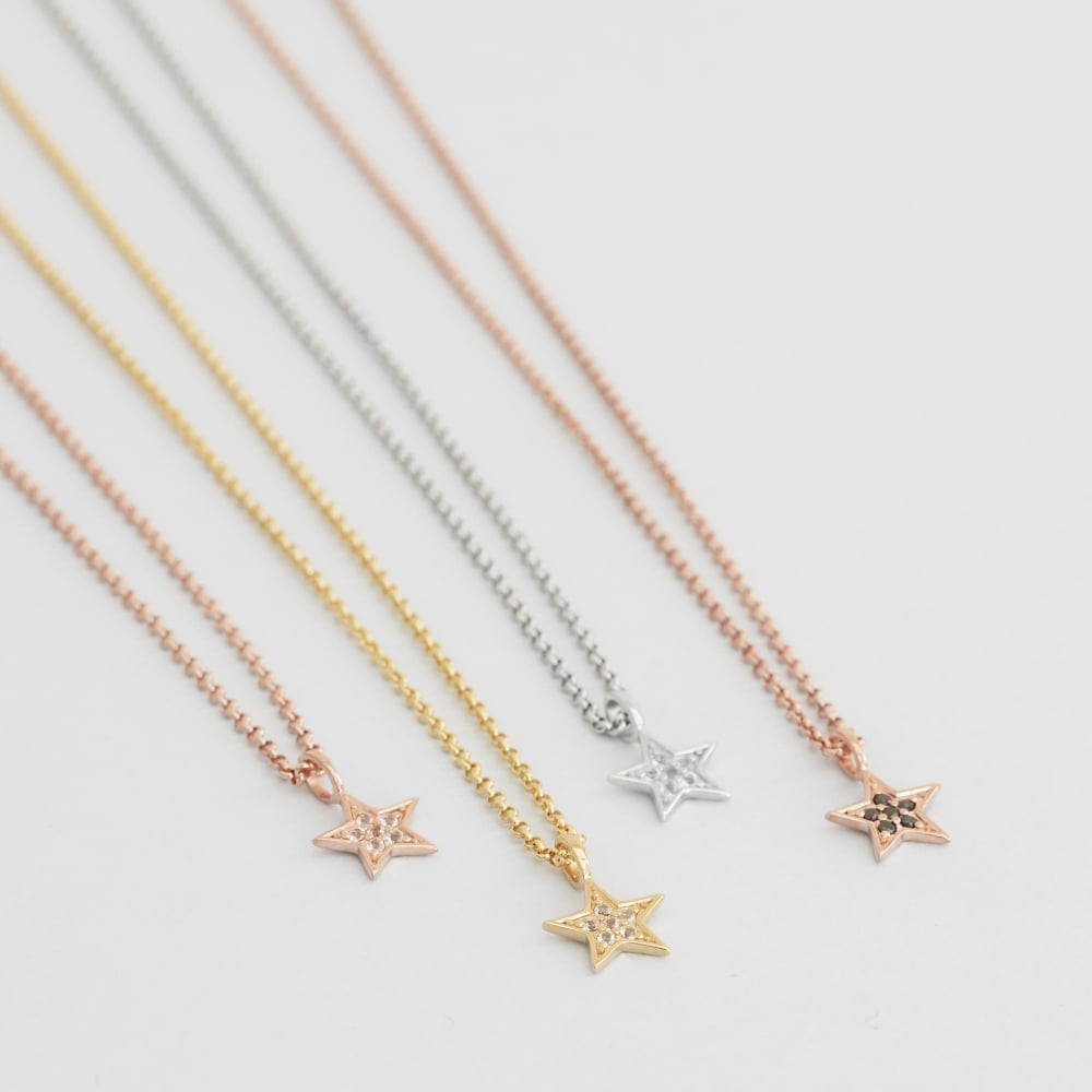 products tiny necklace star mode