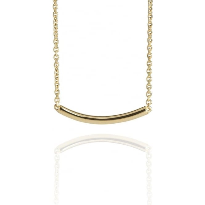 Life & Vitality Arc Necklace Gold