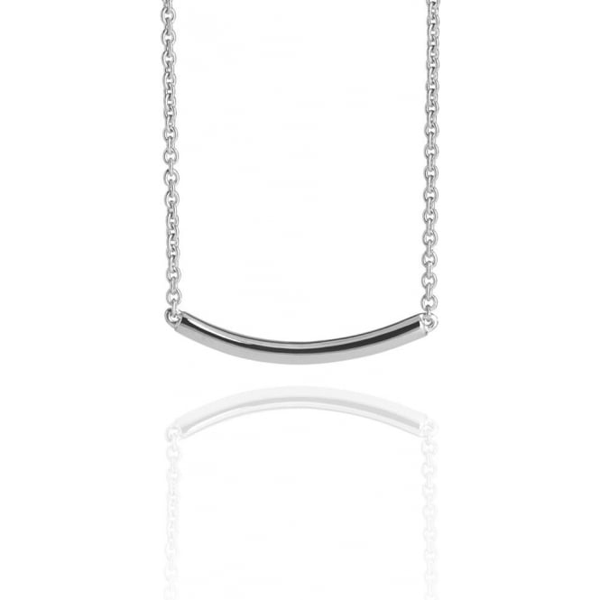 Life & Vitality Arc Necklace Silver