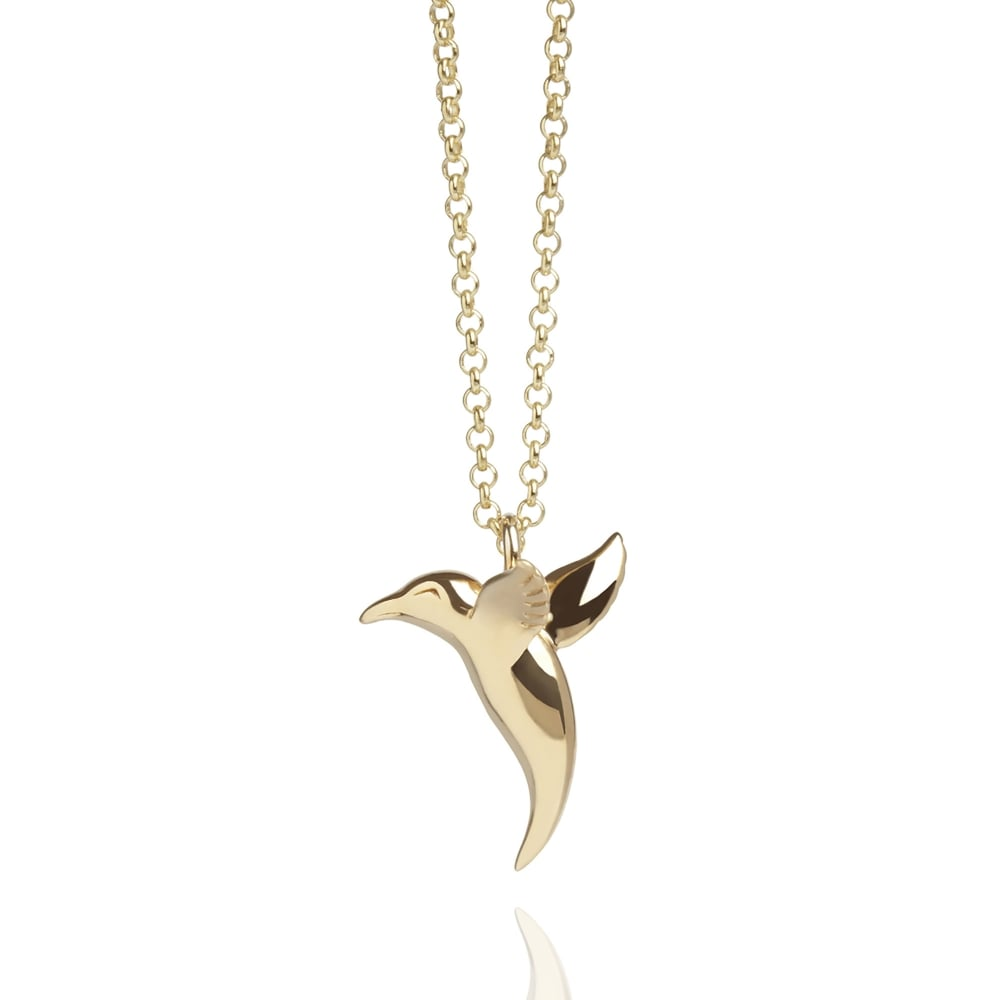 sterling products jewelry handmade gold nanostyle pendant phbg silver plated hummingbird ps necklace