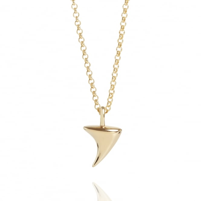 Love Rose Thorn Necklace Gold