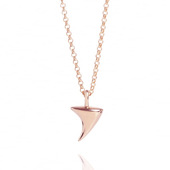 Love Rose Thorn Necklace Rose Gold