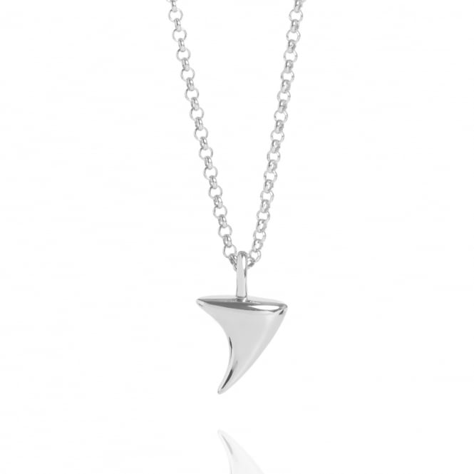 Love Rose Thorn Necklace Silver