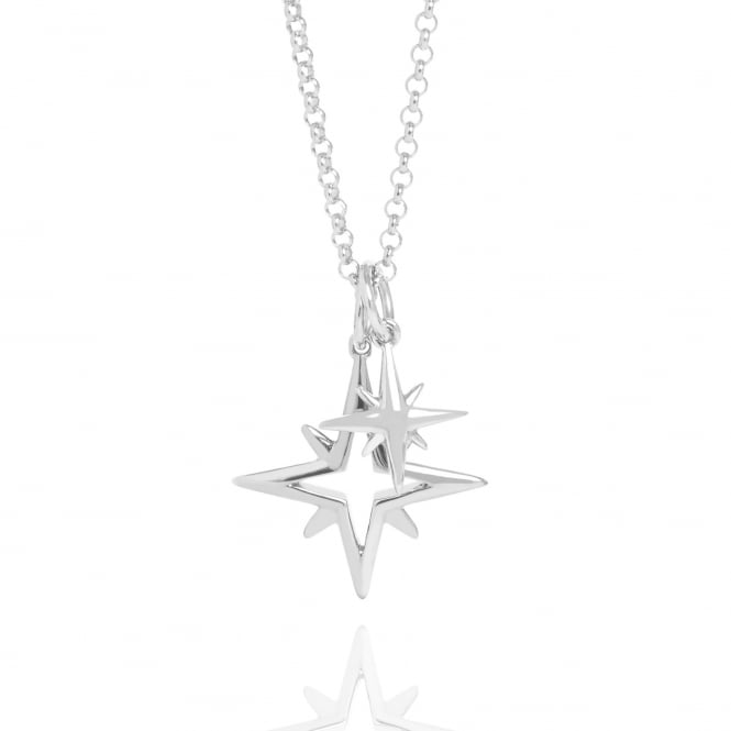 Mother & Child My Little Star Necklace Silver