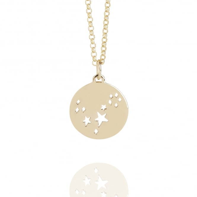 My Constellation Pisces Star Sign Necklace Gold