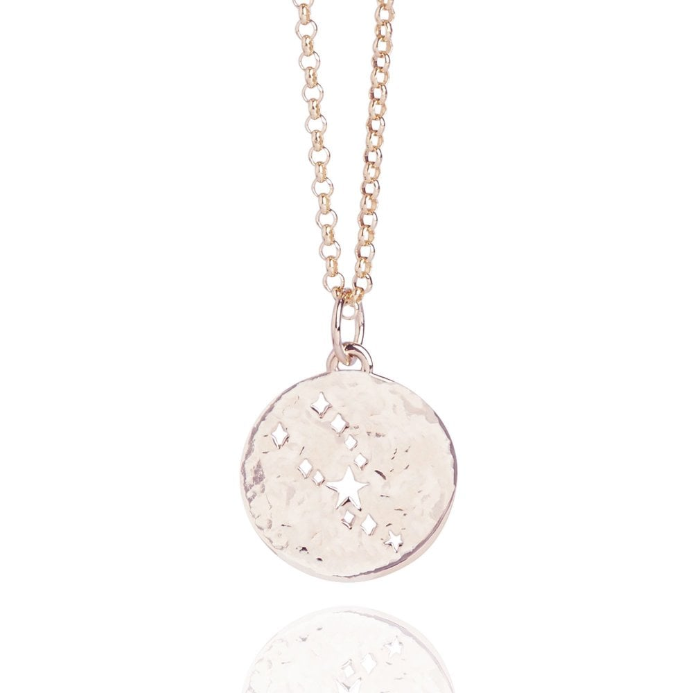 a2be8fab5676f3 Taurus Zodiac Necklace Rose Gold | Rose Gold Vermeil Necklaces ...