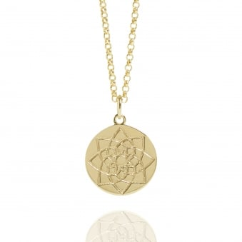 Prosperity Coin Necklace Gold