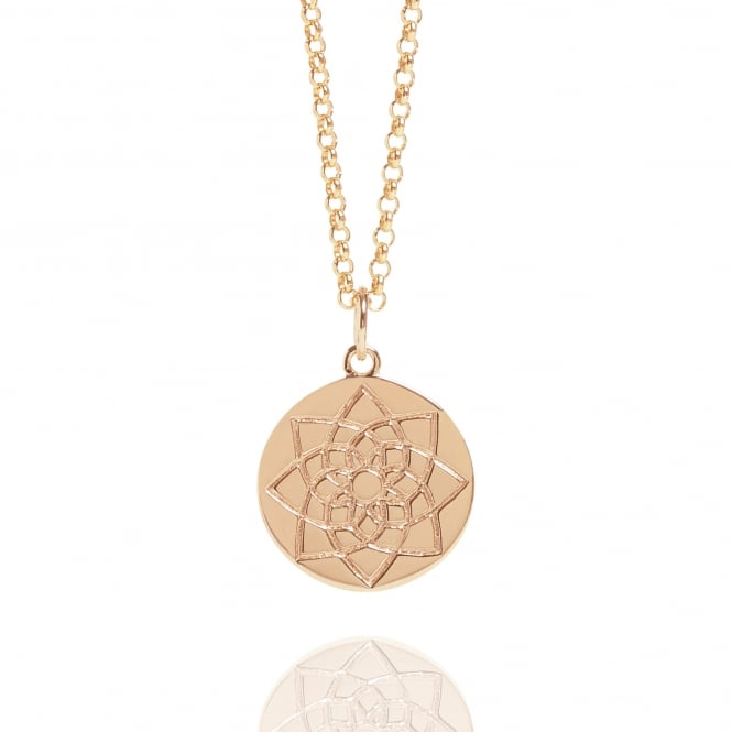 Prosperity & Success Prosperity Coin Necklace Rose Gold