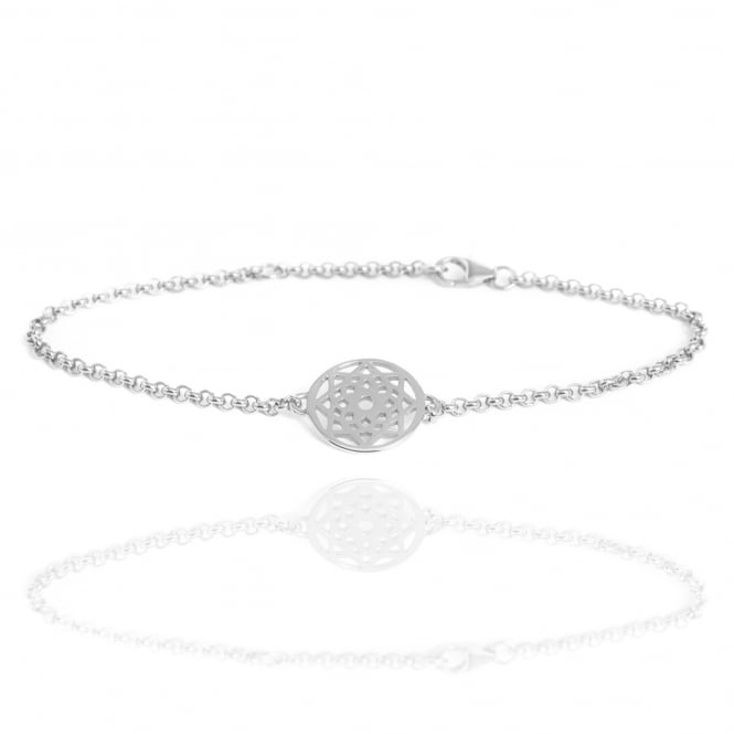 Prosperity & Success Prosperity Dreamcatcher Bracelet Silver