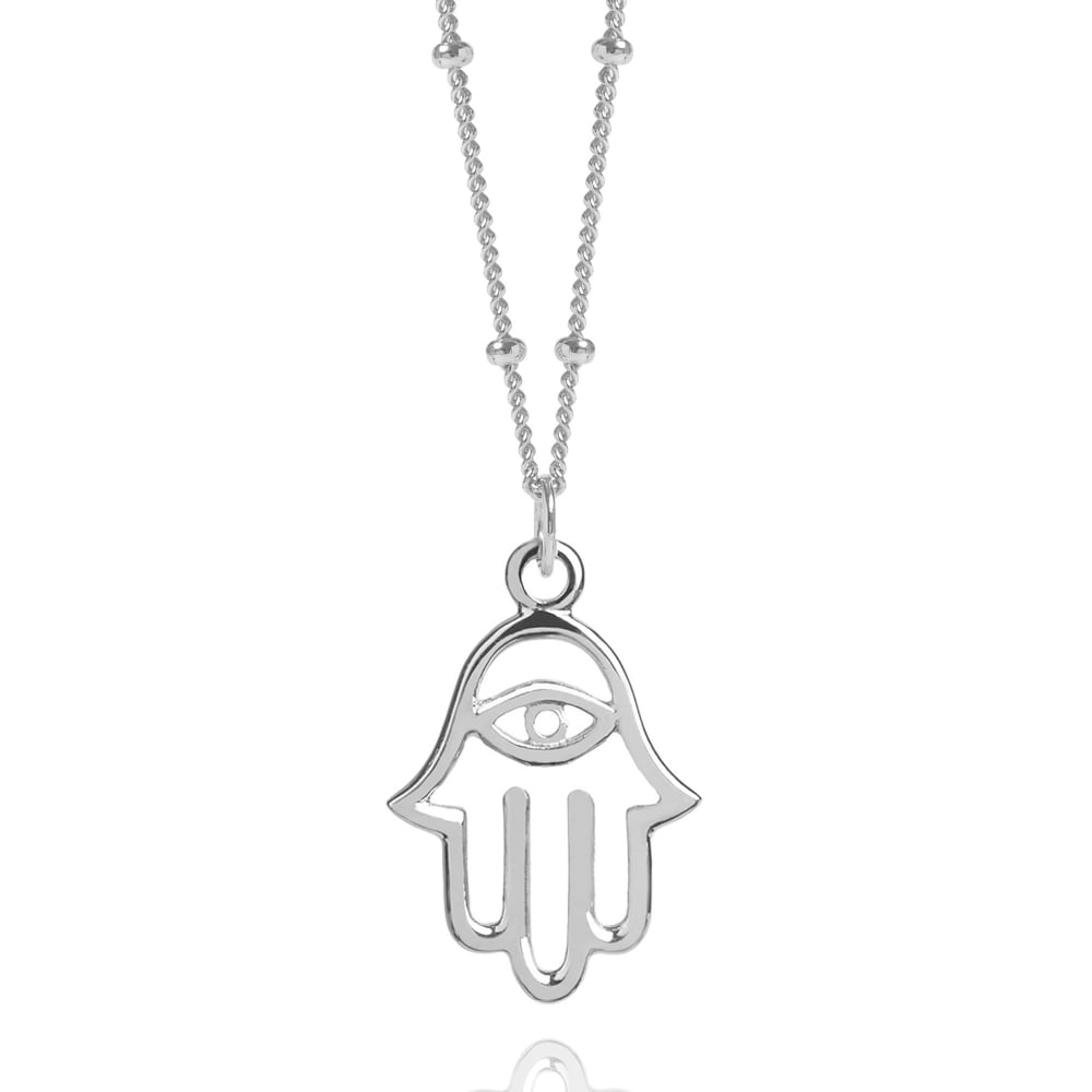 kind hand pearl sterling silver a with necklace hamsa of mother one