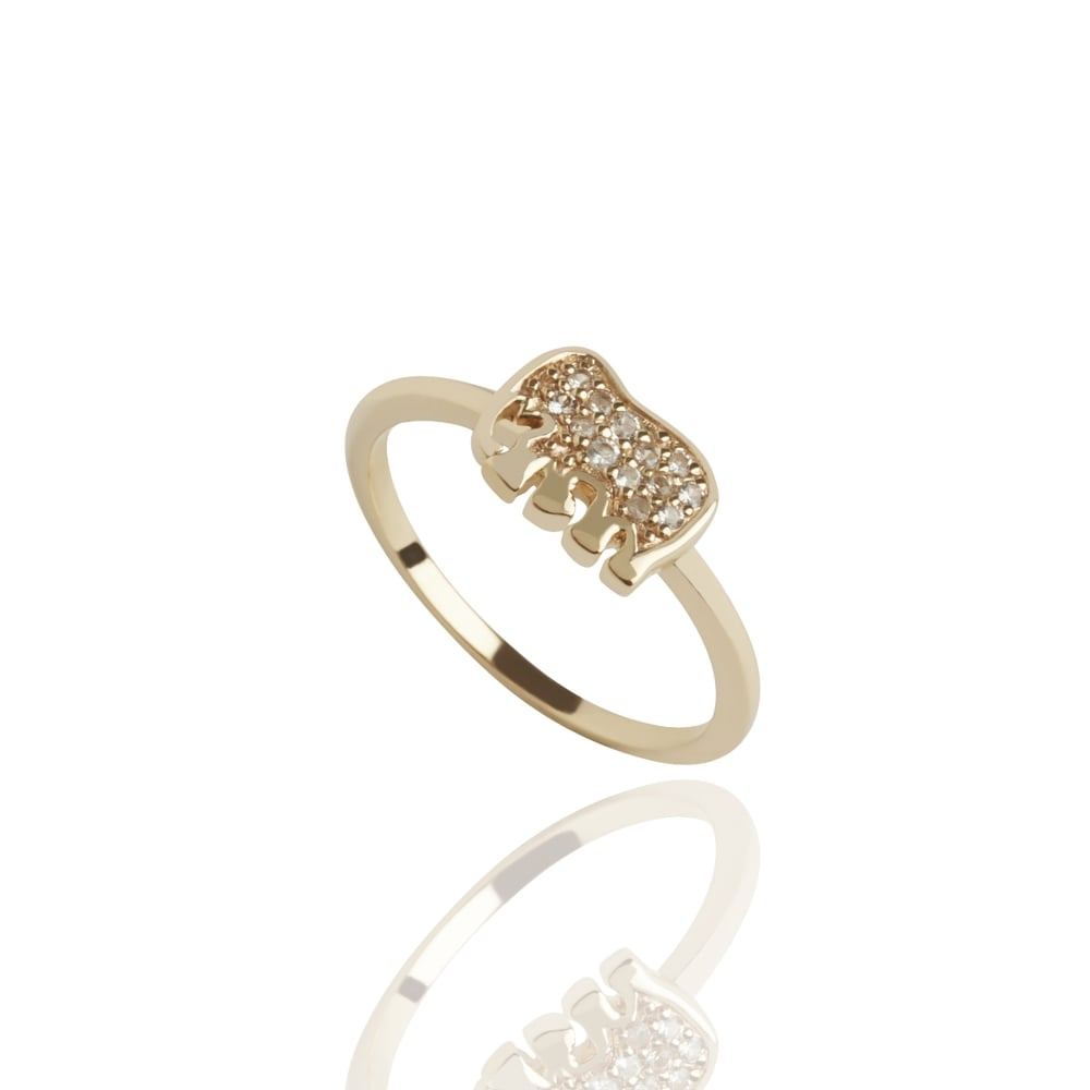 bijouled ring elephant jewellery from engagement rings uk