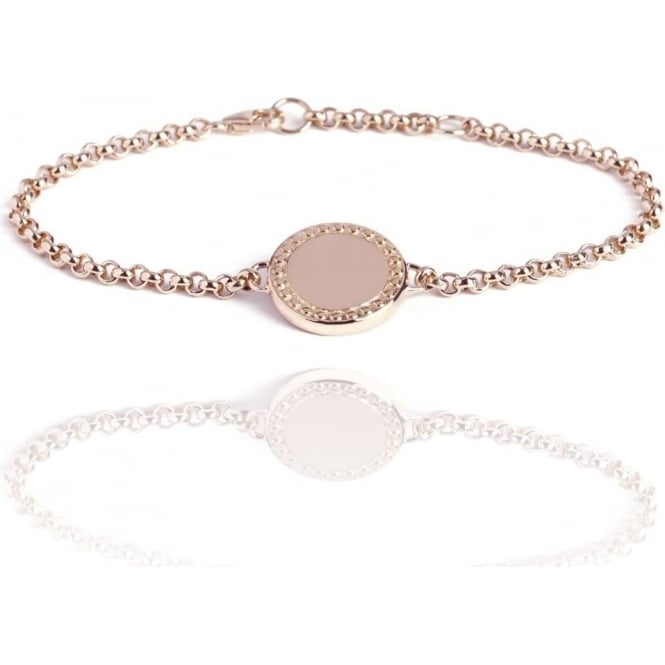 Wealth & Prosperity Coin Bracelet Rose Gold