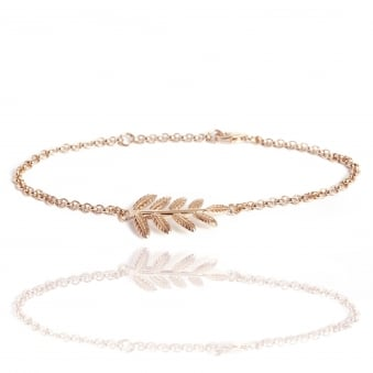 Fern Bracelet Rose Gold